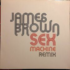 JAMES BROWN • Sex Machine (remix) • Vinile 12 Mix • 2006 COUCH