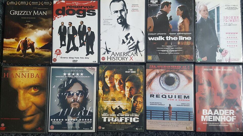 Blandet dvd film, DVD, andet