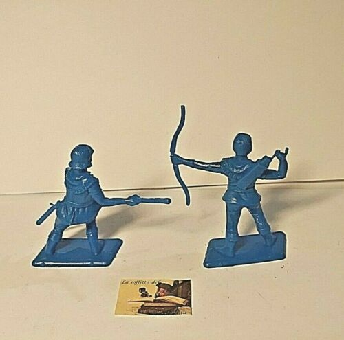 Toy SOLDIERS DULCOP Italy Robin Hood Series Scale 1:32 cm 6