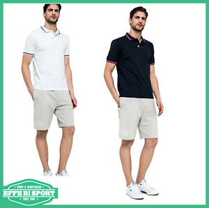 Polo-Sundek-uomo-maglia-manica-corta-piquet-casual-sport-maglietta-tinta-unita