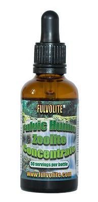 FULVOLITE Fulvic & Humic Acids with Ionic Minerals & Activated Liquid Zeolite