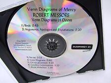 CD - Venn Diagrams of Mercy ROBERT MESSORE Venn Diagrams of Doom 2005 7 Tracks