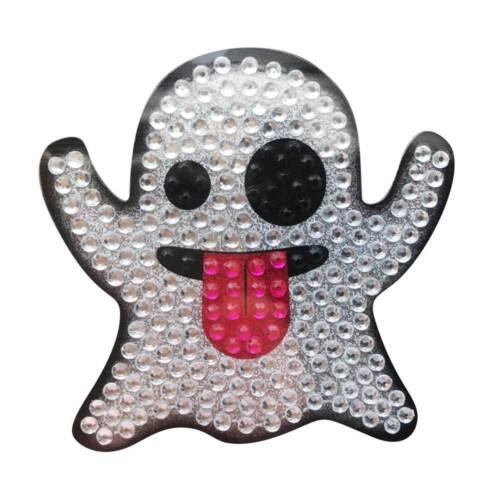 Sticker Bling Bling Gemz Crystal Rhinestone Ghost Emoji
