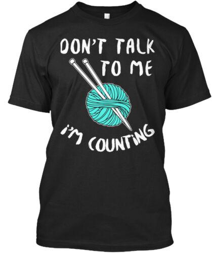 Crochet-ne pas me parler je compte Standard Unisexe T-Shirt