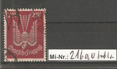 Logisch Deutsches Reich Mi-nr.: 216 A Sauber Gestempelt Geprüft Infla