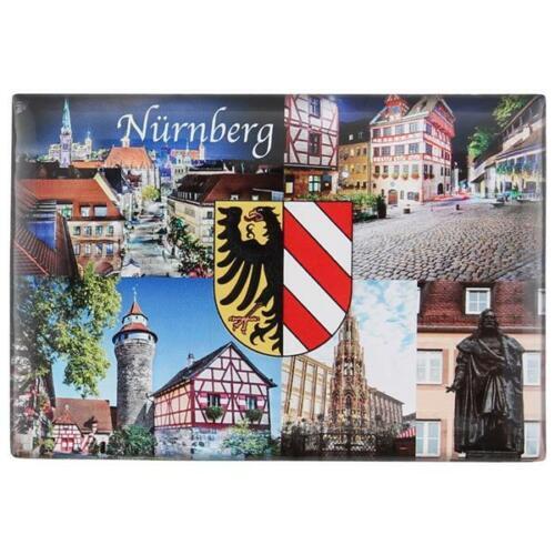 Nürnberg Deluxe Fotomagnet Foto Magnet Epoxy Deutschland Franken Germany  5 in 1