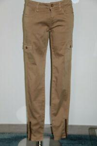 Pantalones Ajustados Beige Estilo Safari Mujer Ed Hardy Talla 36 Fr Nuevo Ebay