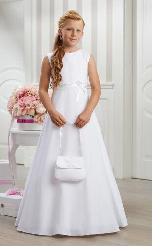 Communion Robe Communion Robe Dentelle Tout simplement Elegant Blanc