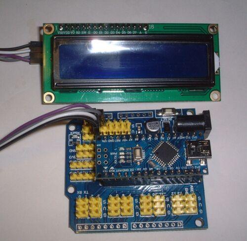nano I2C LCD Display UK Stock Nano V3.0 Prototype Shield