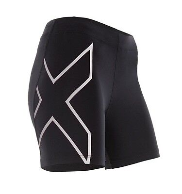 2XU Womens Fitness Compression 4 Inch Shorts