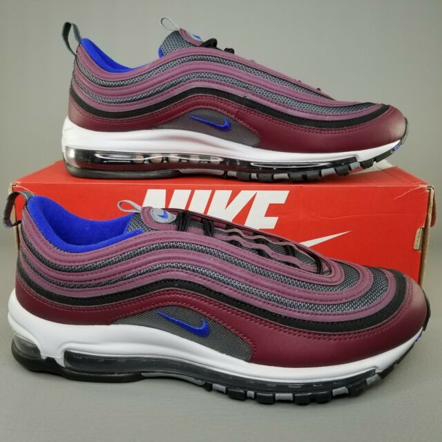 Details about Nike Air Max '97 Night Maroon Cool Grey 921826 012 Men's size 9 US