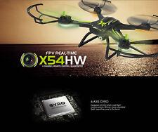 RC QUADRICOTTERO - DRONE Syma X54HW FPV ALTITUDE MODE con Telecamera WIFI