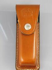 BOKER TREE BRAND Brown Leather Belt Sheath for Optima Knife