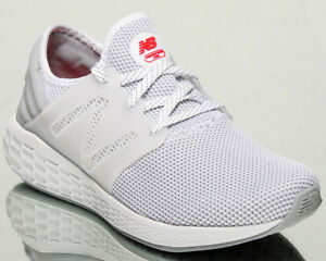 76917770fa23 New Balance Fresh Foam Cruz v2 Sport Men White Grey Running Sneakers ...