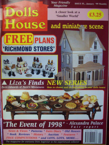 Casa De Muñecas Y Escena En Miniatura Revista-Edición 055