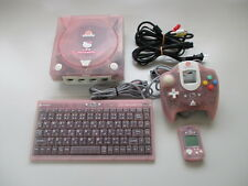 SEGA Dreamcast HELLO KITTY PINK Console Tested Working JAPAN