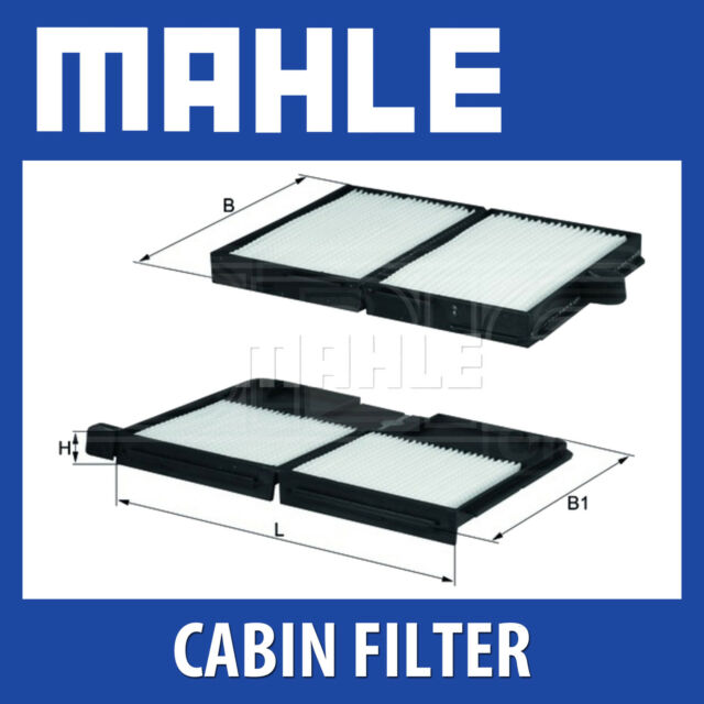 MAHLE Standard Pollen Cabin Air Filter - LA530/S (LA 530/S) Genuine Part