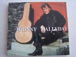 CD-DE-JOHNNY-HALLYDAY-LORADA-FICHE-LIVRET-DIGIPACK-NUMEROTE-COMME-NEUF