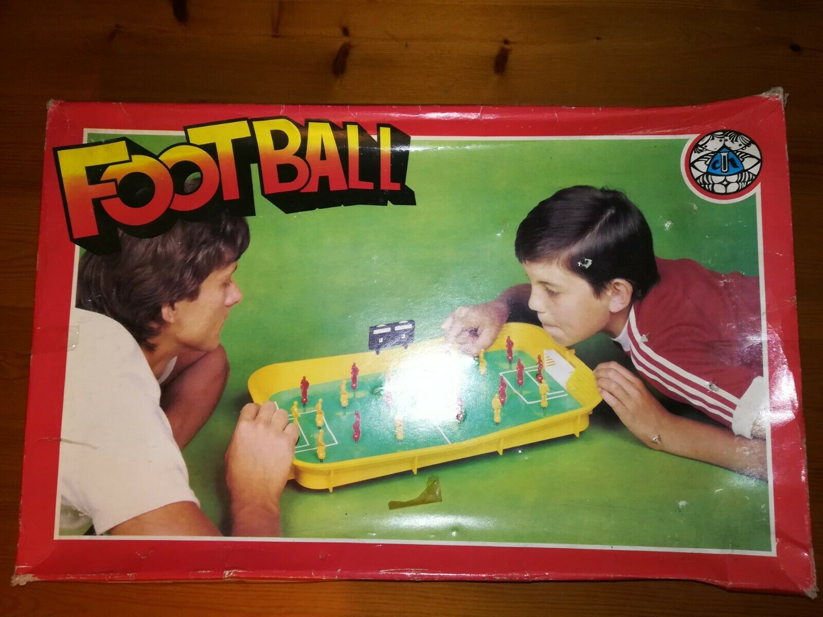 Vintage Footboll Board Game by Chemoplast Brno With Extras
