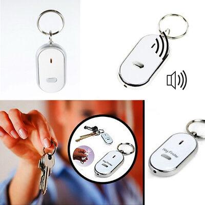 ROSSO CHIAVI chiavi LED TROVA porta CON FISCHIO SONORO KEY FINDER dj