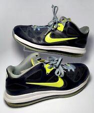 da144c7507 item 3 Nike Air Max Lebron IX 9 Navy Blue 510811 Size 10.5 Volt Basketball  Mid -Nike Air Max Lebron IX 9 Navy Blue 510811 Size 10.5 Volt Basketball Mid