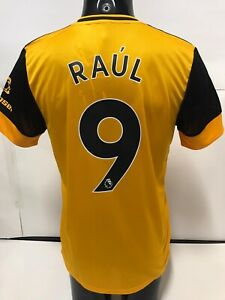 Details about Adidas Wolverhampton Wanderers Home Jersey 20/21 Raul Jimenez #9 Size Medium