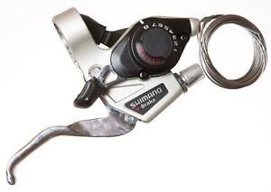 Vitesse V-BRAKE Shimano VTT frein /& GEAR SHIFTER 8 st-ef28 argent et noir