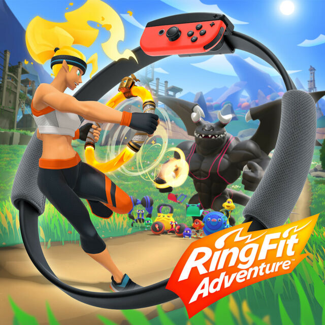 VDGNTN96424176 Ring Fit Adventure, Switch