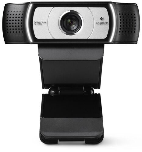 90-Degree Extended View PING Logitech C930e 1080P HD Video Webcam