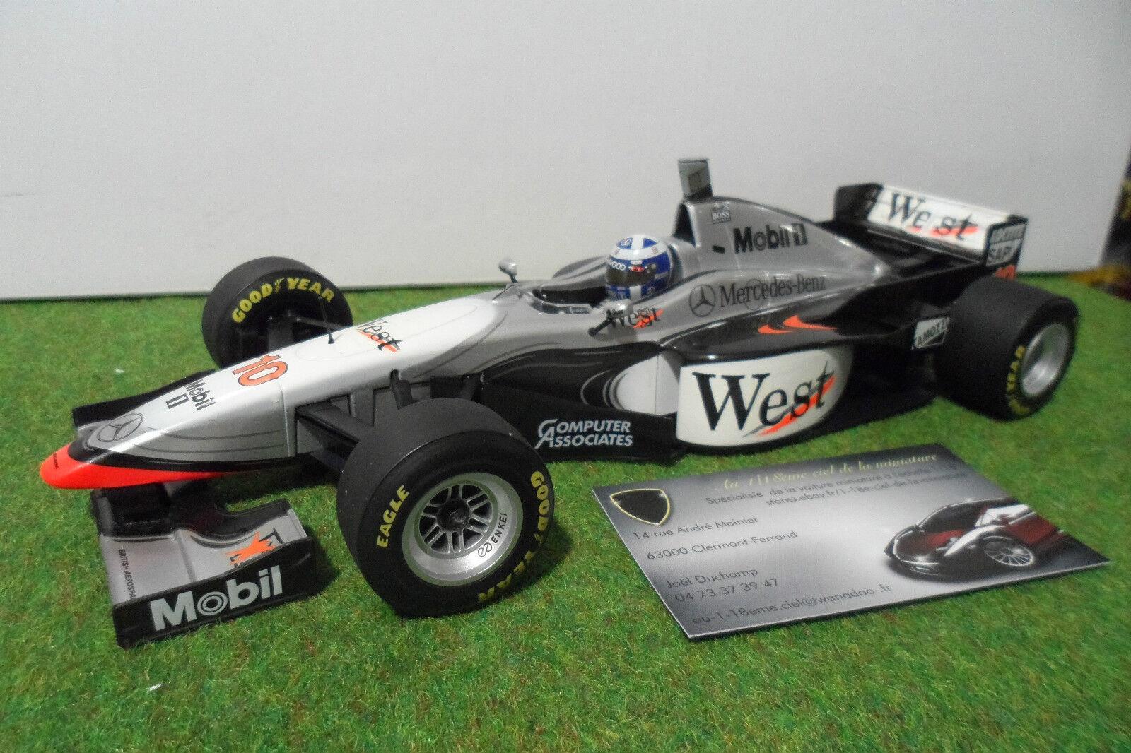 F1 McLaren MERCEDES MP4 12 de 1997 COULTHARD 1 18 MINICHAMPS voiture formule 1