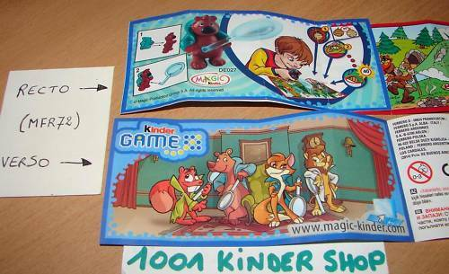 KINDER GAME DE027 DE 27 TIERDETEKTIVE BPZ VARIANTE JOY