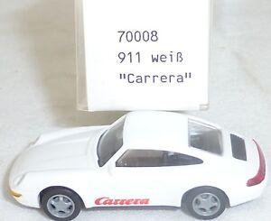 Porsche-911-Carrera-Palabra-Blanco-Imu-Euromodell-70008-H0-1-87-Emb-orig-Ho1-A