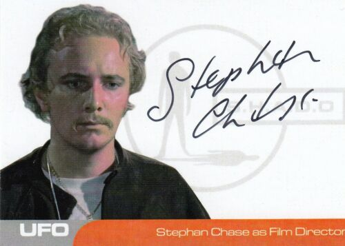 UFO - SC1 STEPHAN CHASE 2016 AUTOGRAPH CARD BINDER EXCLUSIVE FILM DIRECTOR