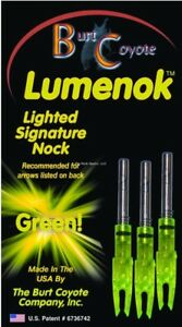 NEW-Lumenok-Signature-Nock-3-Pack-Green-SL3G