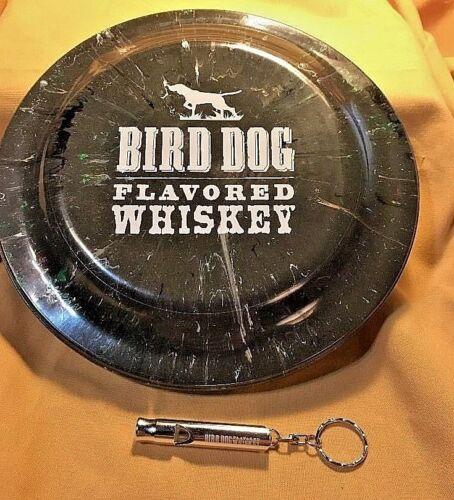 No NEW**Bird Dog Whiskey SET-CAMO 20 Humphrey Flyer and DOG Whistle Keychain