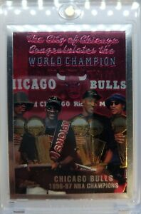 1997-97-98-Topps-Chrome-Bulls-NBA-Champions-51-Michael-Jordan-Premium-MJ