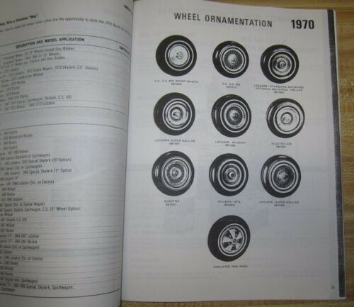 1970 Buick Accessories ManualAL70