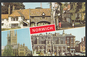 Norfolk-Postcard-Views-of-Norwich-A2770