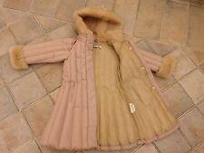 Bambina I PINCO PALLINO Down Jacket Coat Rosa Taglia 4 per 3-4 anni