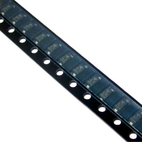 100PCS B5819W 1N5819 S4 1A//40V SOD-123 Schottky Diodes