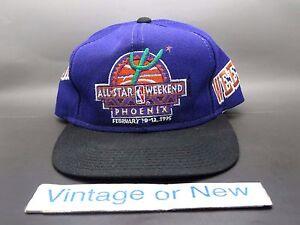 eb307d9441ea2 VTG 90 s Sports Specialties 1995 NBA All-Star Game Phoenix Snapback ...