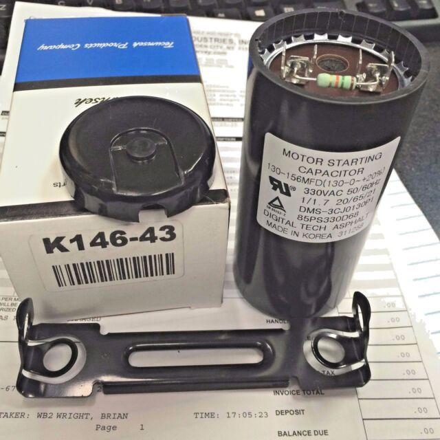 K146-13 TECUMSEH COMPRESSOR Start Capacitor 88//108 MFD 250 VAC