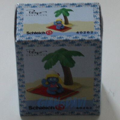 Puffo Puffi Smurf Smurfs Schtroumpf 4.0262 40262 Smurfette On Vacation Box 8a Il Massimo Della Convenienza