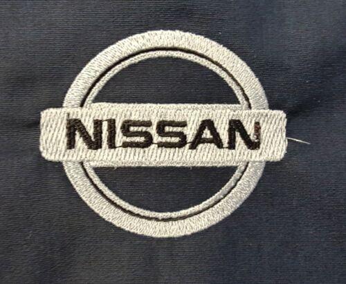 NEW CUSTOM BLACK ZIPPED HOODIE HOODED SWEATSHIRT EMBROIDERED NISSAN LOGO S-4X