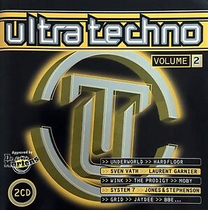 Compilation-2xCD-Ultra-Techno-Volume-2-France-M-M