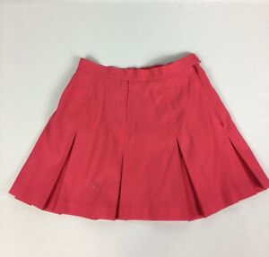 27e52246d64 Le Coq Sportif Pink Pleated Women's Golf/Tennis Skirt 100% Polyester ...