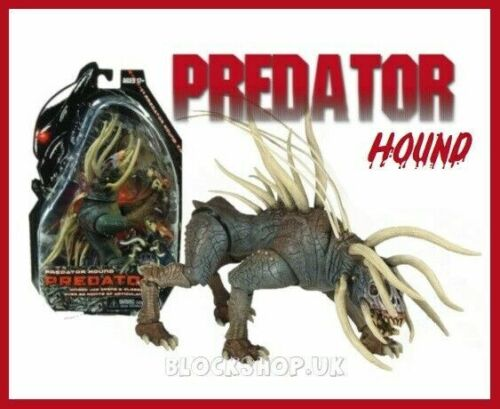 NECA grandi PREDATOR HOUND-GUERRIERO DOG-GLI ALIENI AVP Action Figure