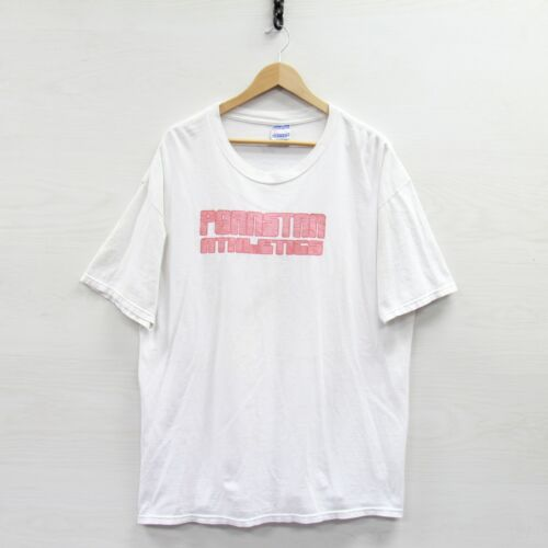 Vintage Pornstar Athletics T-Shirt Size 2XL White