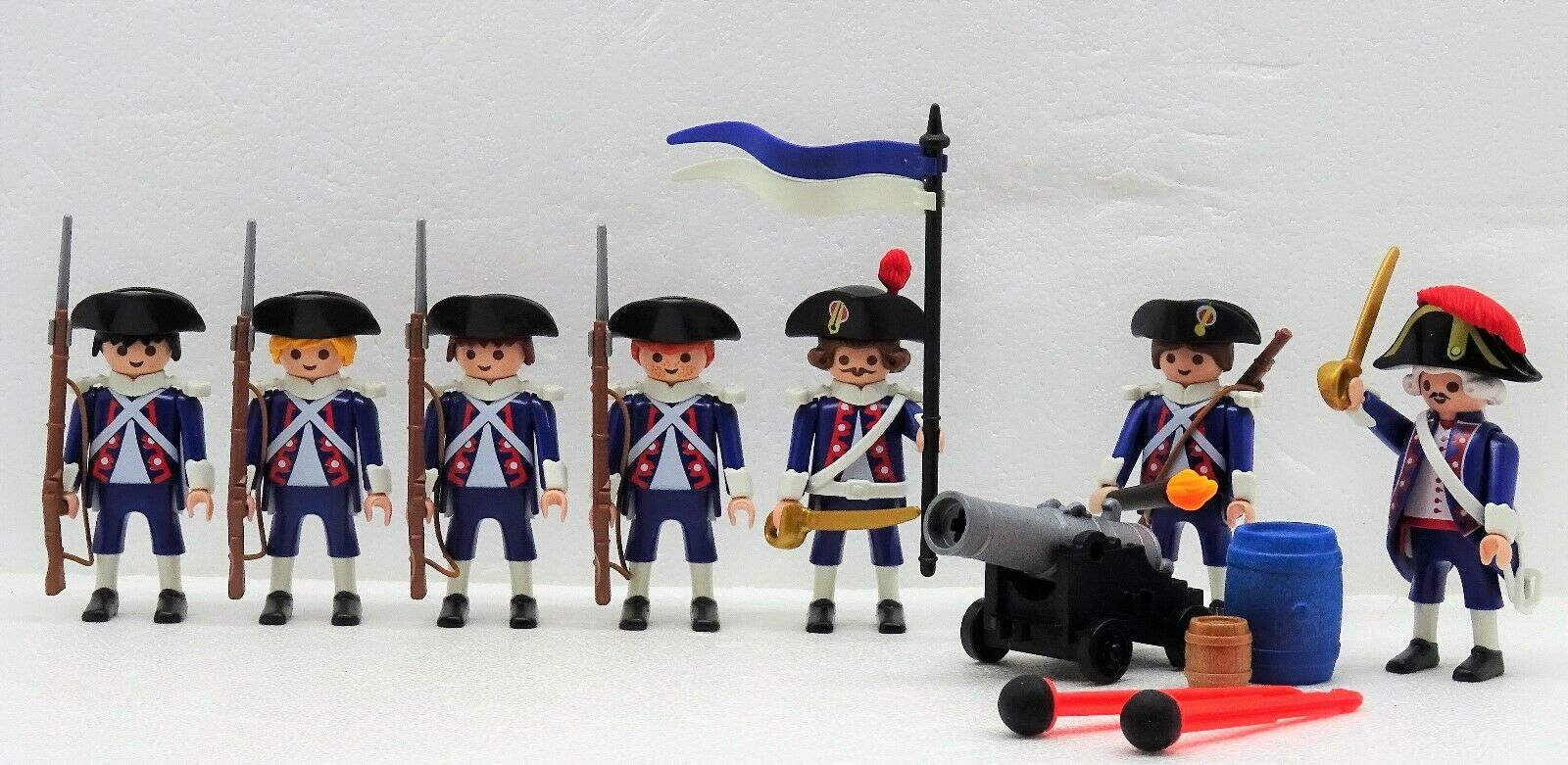 Hafenwache Francese Marino Soldati Playmobil    Cannone Beiera Ufficiale  vendita outlet