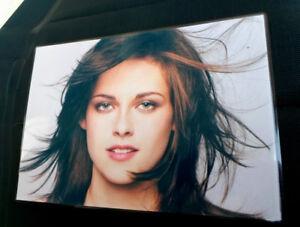 Schreibtischunterlage-Poster-Foto-Kristen-Stewart-laminiert-ca-30-3-x-21-7cm-NEU